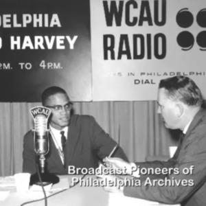Malcolm X Debates Evie Rich on WCAU Radio. 1961.mp4